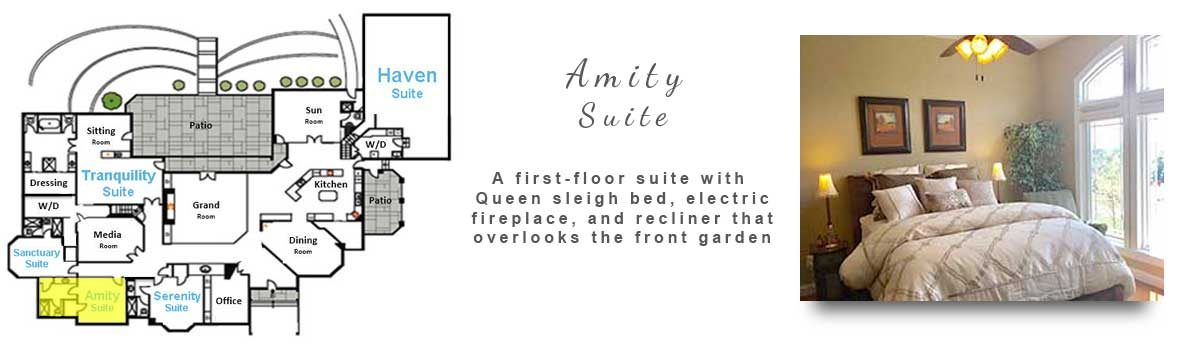 Amity Suite Room
