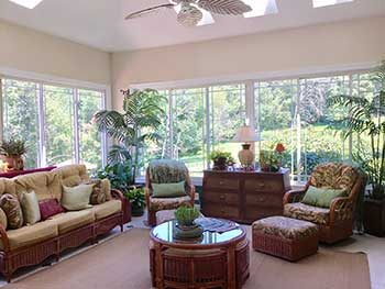 sunroom shared area